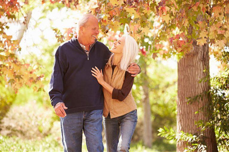 Senior Walking benefits